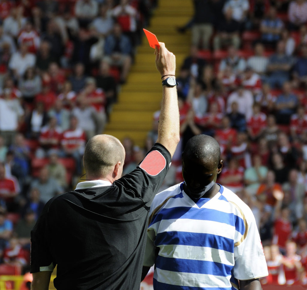 How Referees Can Face Up To Testing Periods