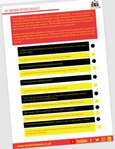 The Confident Referee Checklist